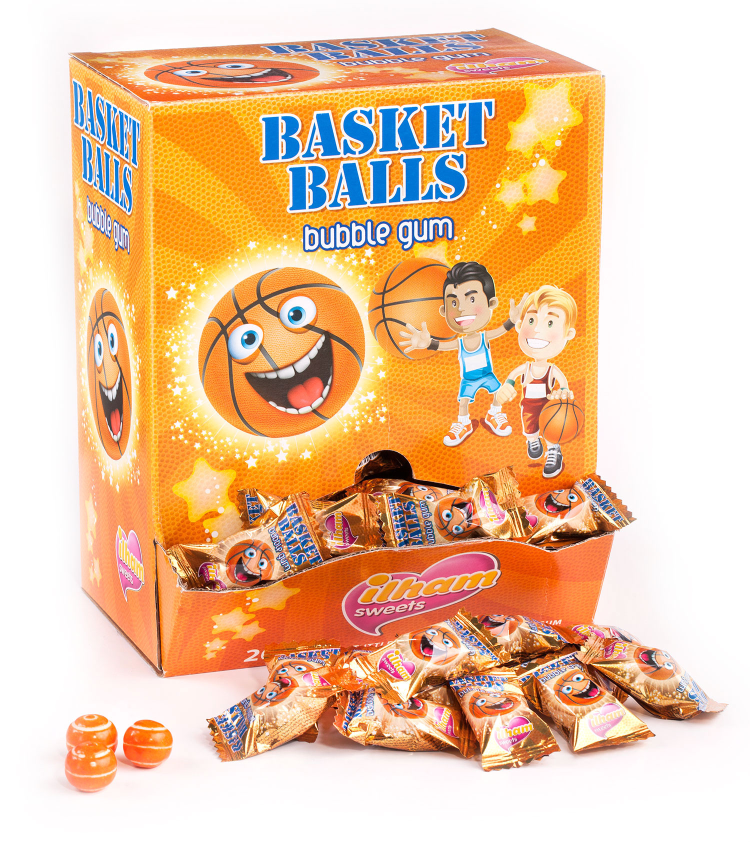 BASKET BALLS SINGLE FLOW PACK