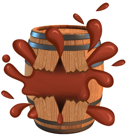 PIRATE BARRELS